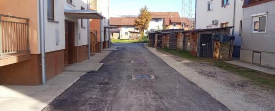 Asfaltirano još devet ulica na području opštine