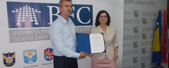 Opština Kotor Varoš dobila potvrdu o sertifikaciji