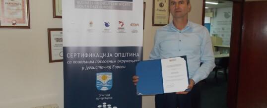 Kotor Varoš potvrdio status opštine sa povoljnim poslovnim okruženjem