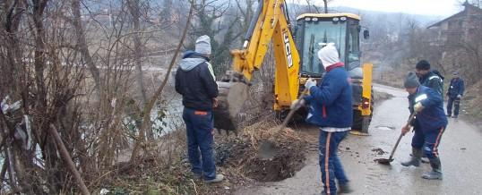 U toku radovi na prespajanju kanalizacione mreže