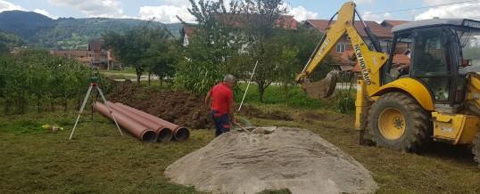 Počela izgradnja kanalizacione mreže na Ripištu