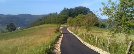 Završeno asfaltiranje puta u Raštanima i Baštini