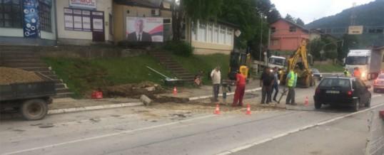 Završeni radovi na kanalizacionoj trasi
