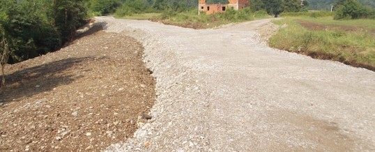 Završeni radovi na putnoj infrastrukturi u Novom Selu